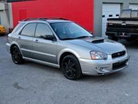 Gray Metallic 2005 Subaru Impreza Outback Sport AWD