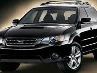 2005 Subaru Outback 2.5XT    *Used vehicle one of each.