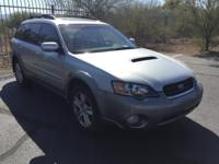 Outback 2.5XT Limited, 4D Station Wagon, 2.5L DOHC
