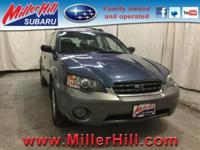 2005 Subaru Outback 2.5i 5M AWD ready to go! With
