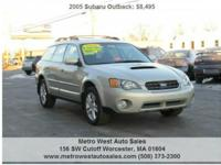 We are pleased to offer you this nice 2005 SUBARU