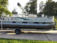 2005 suntracker 21 foot pontoon fish in addition 50 HP