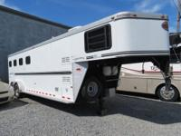 Model SunLite 727, 32-ft. gooseneck horse trailer,