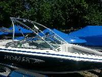 Luxury wakeboard boat with all the bells and whistles!