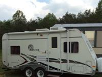 It is a travel trailer 2005 surveyor it is in good