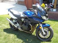 For sale : 2005 Suzuki Bandit 1200 with 3200 miles