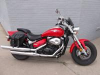 2005 Suzuki Boulevard M50, 800cc., GO BIG RED !!! Sweet