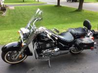 2005 Suzuki Boulevard motorcycle, 1500cc, 10,100 miles,