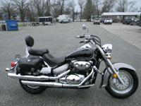 2005 Suzuki Boulevard C50 BLACK AND GREY 27781 MILES