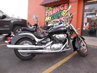 2005 Suzuki Boulevard C50 Black CLEAN Bike-Runs GREAT!
