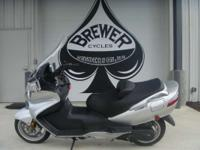 2005 Suzuki Burgman 650 Come see it at Brewer Cycles or