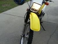 2005 Suzuki DR200SE dual sport / street legal bike.