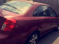 I'm selling a 2005 suzuki forenza. Its in good