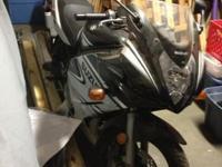 For sale: 2005 Suzuki GS500F, one owner, garage kept,