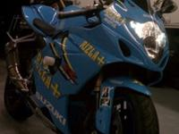 2005 Suzuki GSX-R1000 Rizla limited edition recreation.