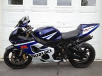 2005 Suzuki GSX-R 750 K4. 6,273 miles... That's it!