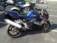 2005 Suzuki S40 650 with Blue Collar Bobber kit for Sale in