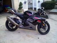 Description Black Metallic Silver 2005 Gixxer-1000, 12k