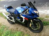 2005 Suzuki GSX-R 600 11000 miles. Clean Title in hand.