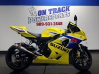 2005 SUZUKI GSXR 600 Here at On Track Powersports we