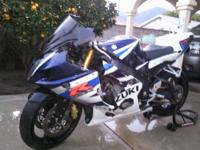 rolling chassis 2005 Suzuki GSXR 600 Motorcycle, The