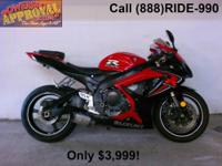 2005 Suzuki GSXR600 Sport bike for sale with only 2,581