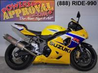 2005 Suzuki GSXR600. Clean, sharp and fast! This bike