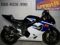 2005 Suzuki GSXR750 crotch rocket for sale $99 per