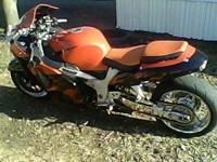 "2005 Suzuki Hayabusa: 12'"" Swingarm, Lowered 2"", Full"