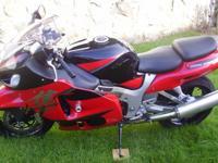 Stock 2005 Suzuki Hayabusa GSX1300R No Wrecks 15K Miles