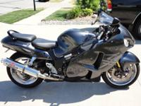 2005 Hayabusa Limited Gray with lots of chrome. Chrome