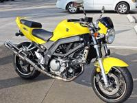 My 2005 Suzuki SV650 is too nice to be a garage