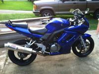 Super clean and very well maintained 2005 Suzuki SV650S