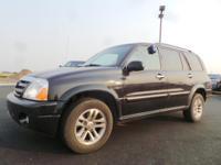 Options:  2005 Suzuki Xl-7 |Black|18|755 Miles|Stock