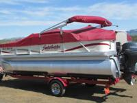 2005 Sweetwater Model 180 Pontoon. This is a 2005