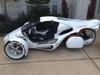 Ready to go! The new street legal Roadster Trike
