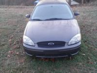 NICE RUNNING CAR AND NEEDS SOME WORK DONE  SELLING