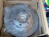 I am selling new front brake rotors. There are two