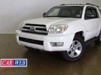 2005 Toyota four runner 4x4 just arrived. optioned with