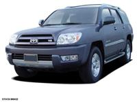 This 2005 Toyota 4Runner is complete with top-features