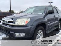From work to weekends, this 2005 Toyota 4Runner SR5