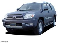 Treat yourself to this 2005 Toyota 4Runner SR5, which