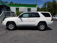 Options:  2005 Toyota 4Runner Sr5 4Wd 4Dr Suv|White|Abs