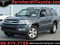 We are happy to offer you this 2005 Toyota 4Runner SR5