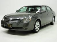 1 Owner 2005 Toyota AVALON 4DR SDN XLS with 91880