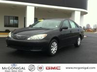 2005 Toyota Camry 4 Door Sedan LE Our Location is: H.E.