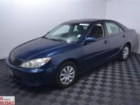 This 2005 Toyota Camry 4dr XLE Sedan features a 2.4 L