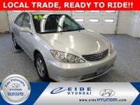 This 2005 Toyota Camry LE comes w/ the 2.4L DOHC Engine
