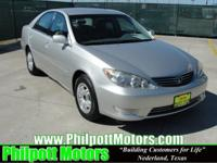 Options Included: N/A2005 Toyota Camry LE, lunar mist