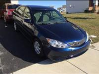 2005 Toyota Camry LE Low miles 93000 Original -